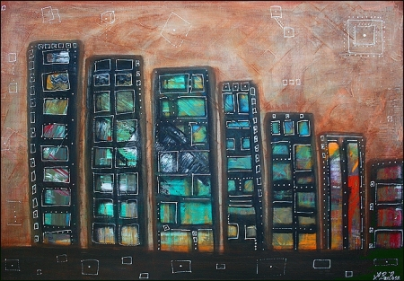 city squared 24 x 36