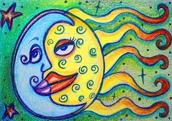 Sun Meets Moon