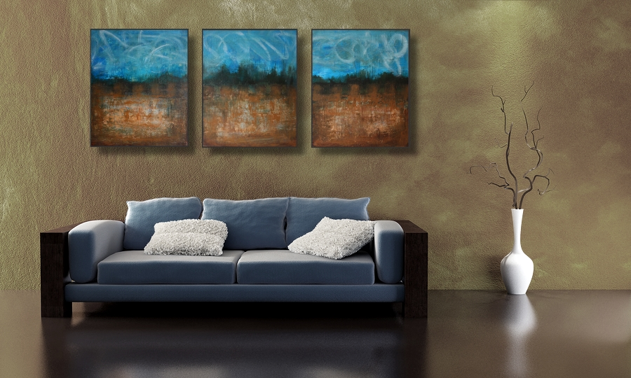 DIY: Custom Art Work For Your Apartment