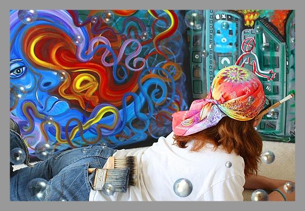Artist Laura Barbosa Studios 3