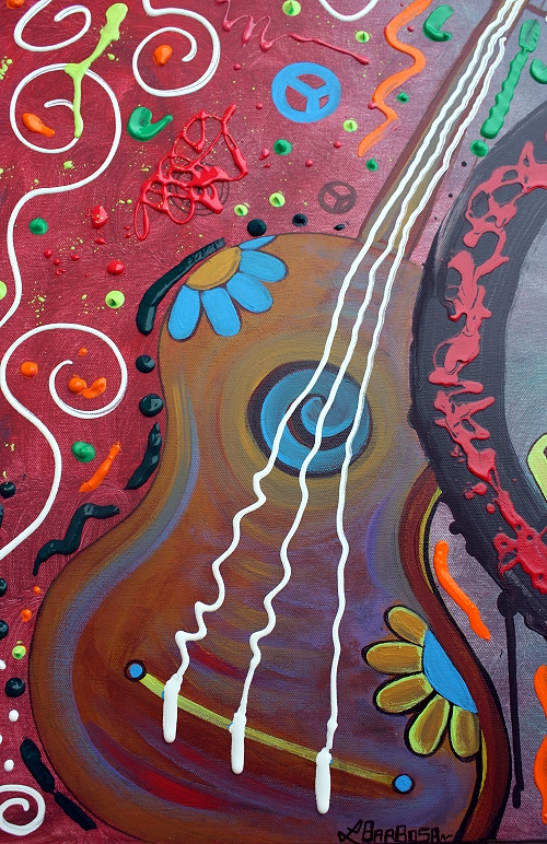 Peace Sign Paintings of Love by Laura Barbosa (2/4)