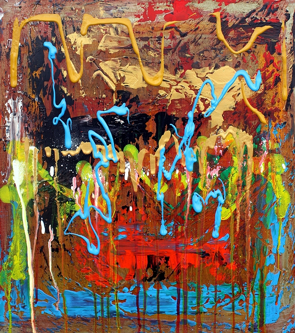 The Three Fates - New Modern Abstract Paintings (3/3)