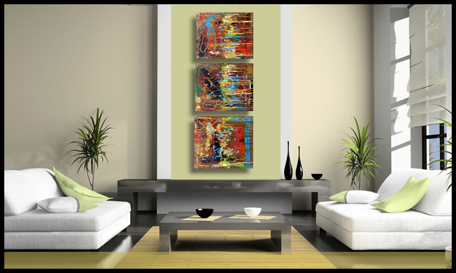 The Three Fates - New Modern Abstract Paintings (1/3)
