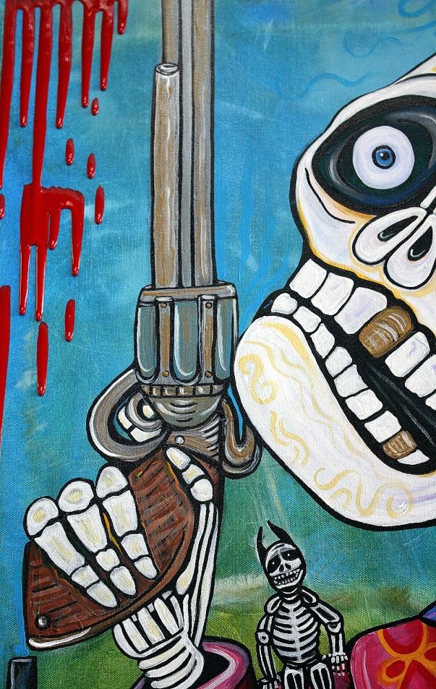 The Gun - New Day Of Dead Artwork (5/6)