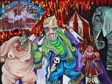 Freak Show - The Sinister Circus by Laura Barbosa Art