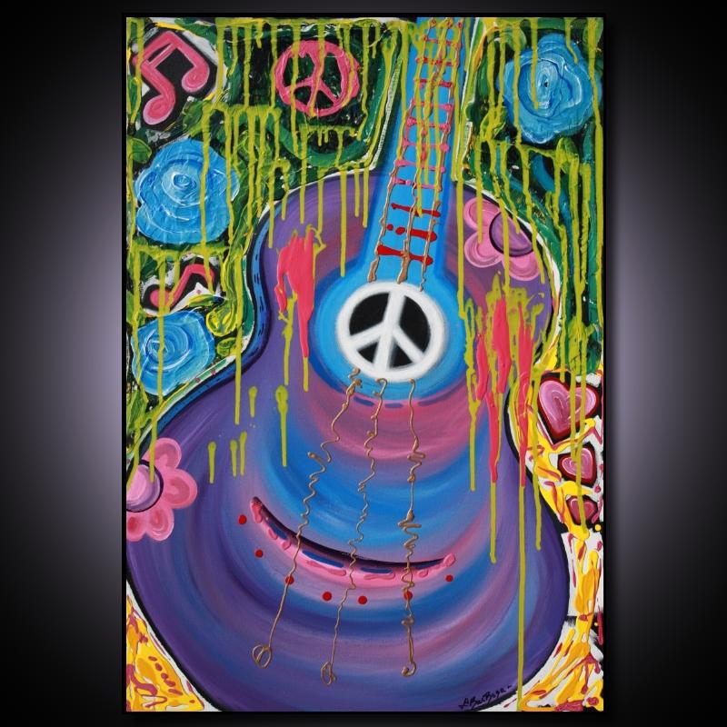 hippie art heart of art blog