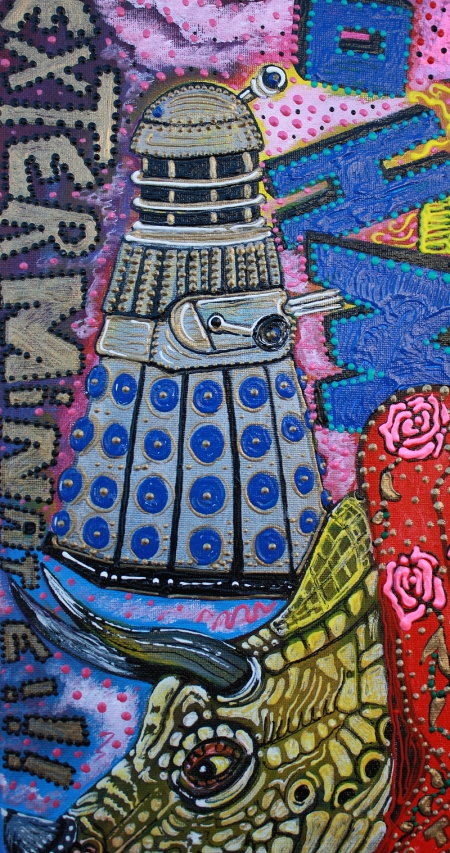 dalek close up