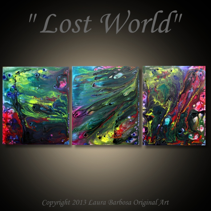 Lost World by Laura Barbosa - 60x24