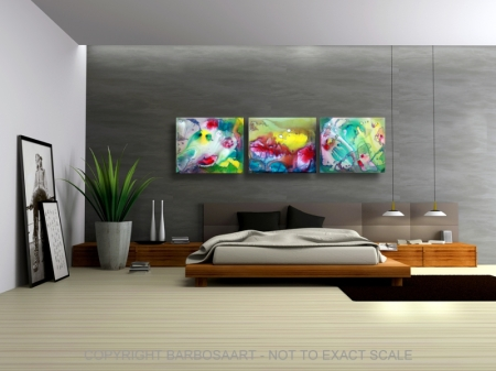 Sanctum - by Laura Barbosa - Modern Art 2