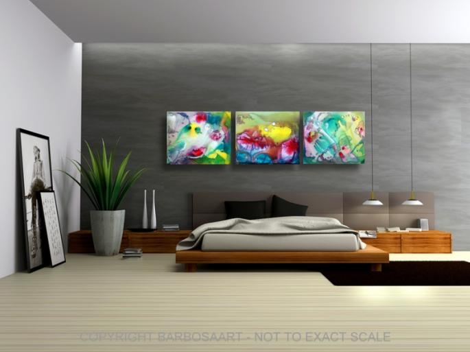 Sanctum - by Laura Barbosa - Modern Art 2