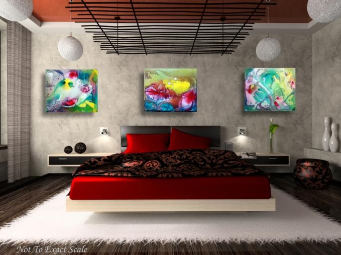 Sanctum - by Laura Barbosa - Modern Art 3