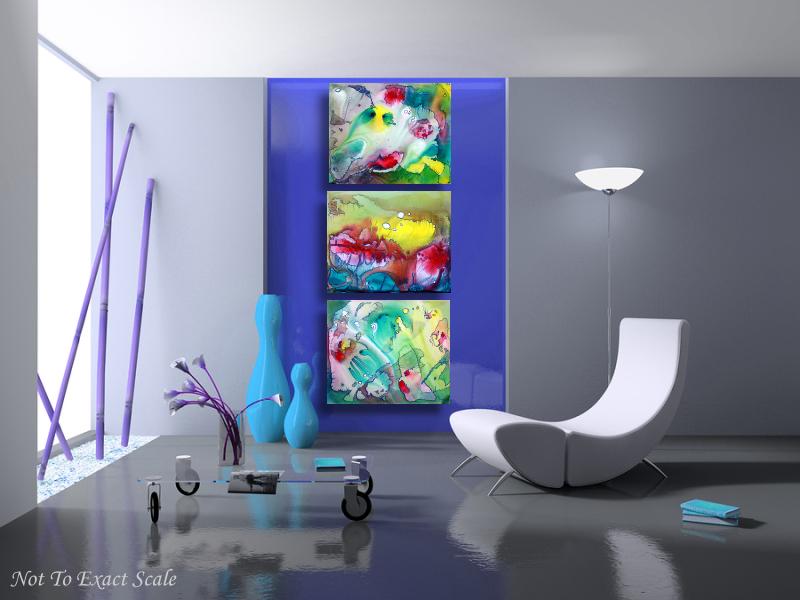 Sanctum - by Laura Barbosa - Modern Art 4