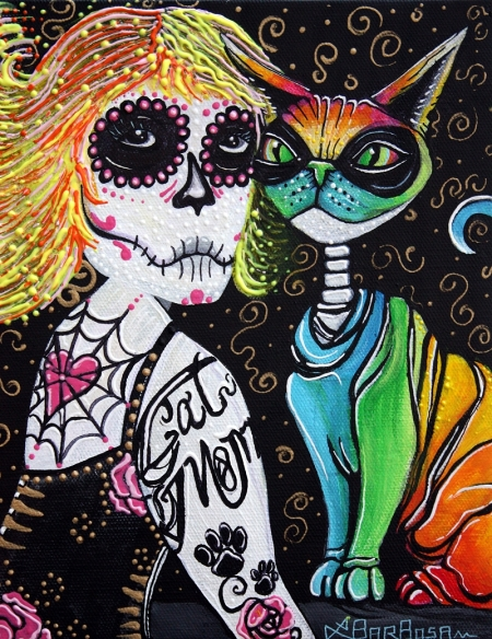 Cat Mom by Laura Barbosa - 2013