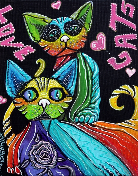Love Cats by Laura Barbosa - 2013