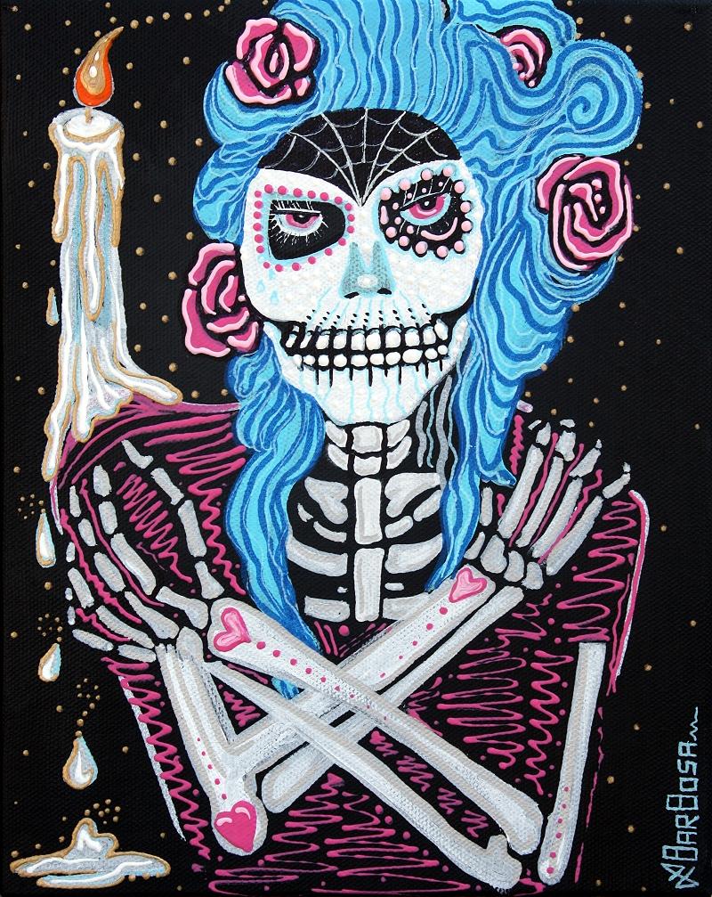 Madame Muertos by Laura Barbosa 2013 - Los Muertos