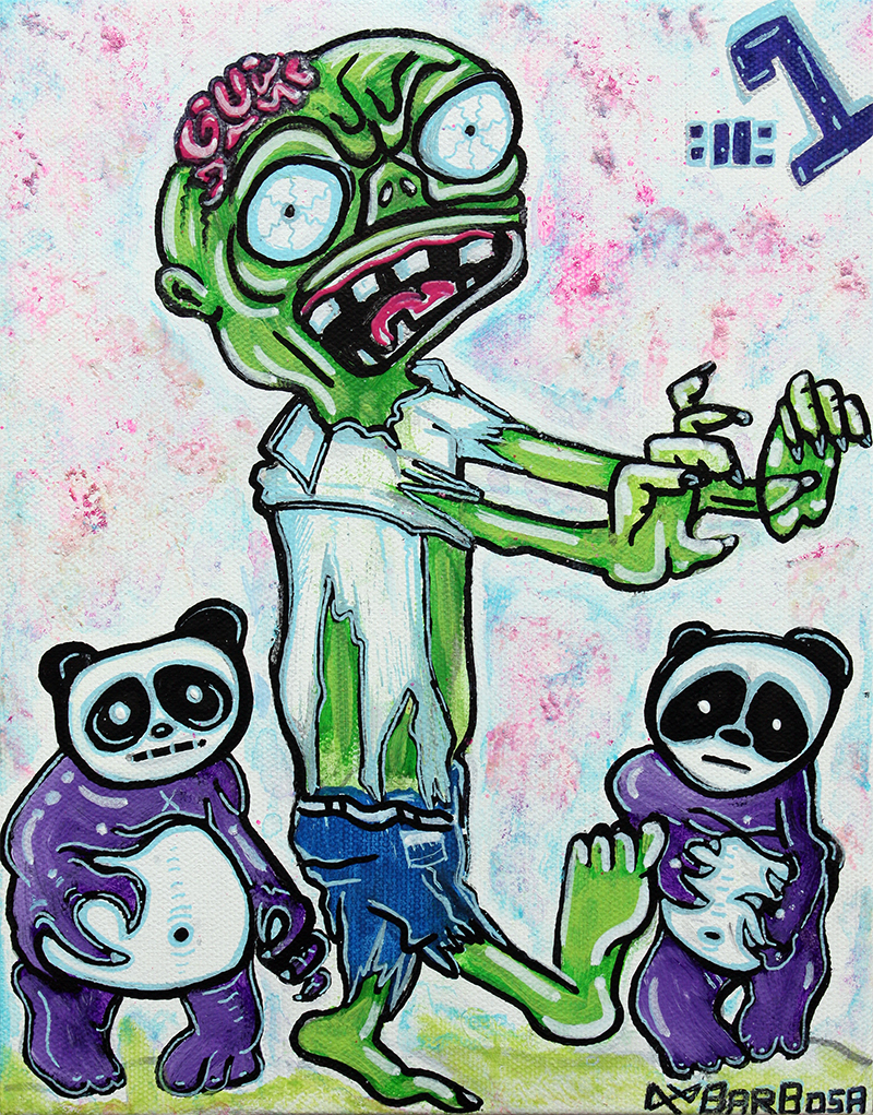 My Pet Zombie #1 - Pandamonium by Laura Barbosa for Web