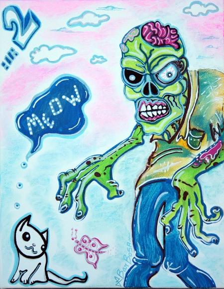 my pet zombie 2 - Here Kitty Kitty - Display