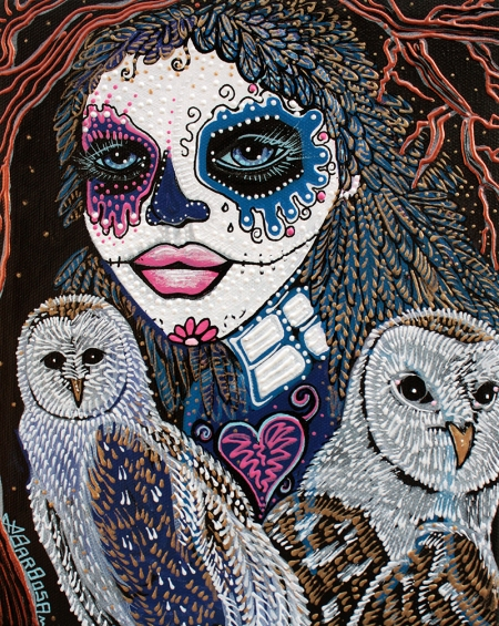 Spirit Of The Owl 2013 by Laura Barbosa - display
