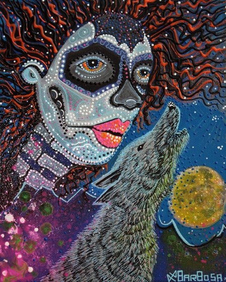 Spirit Of The Wolf by Laura Barbosa 2013 - display
