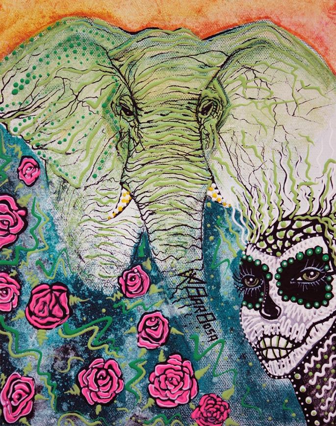 Elephant Keeper by Laura Barbosa 2013 - display