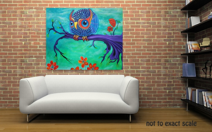 Enchanted Owl by Laura Barbosa - home decor
