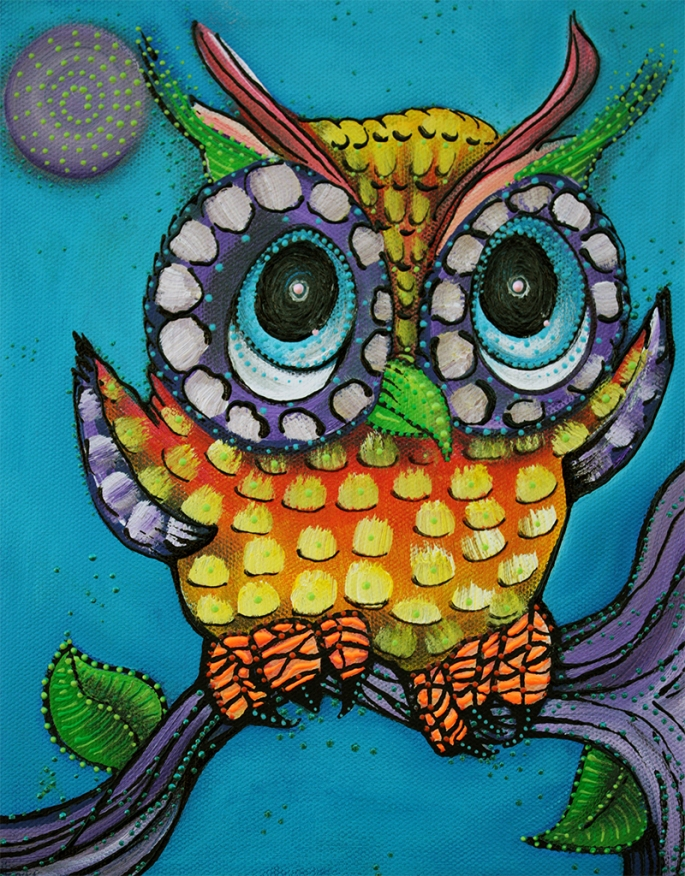 Little Owl by Laura Barbosa - display
