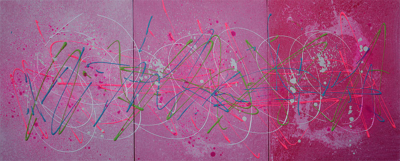 Pink Abstract Art - Laura Barbosa 2013