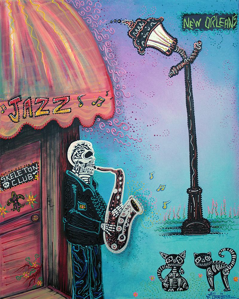 Skeleton Club by Laura Barbosa 2013 - display