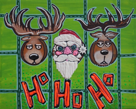 Hunting HO HO HO by Laura Barbosa - display