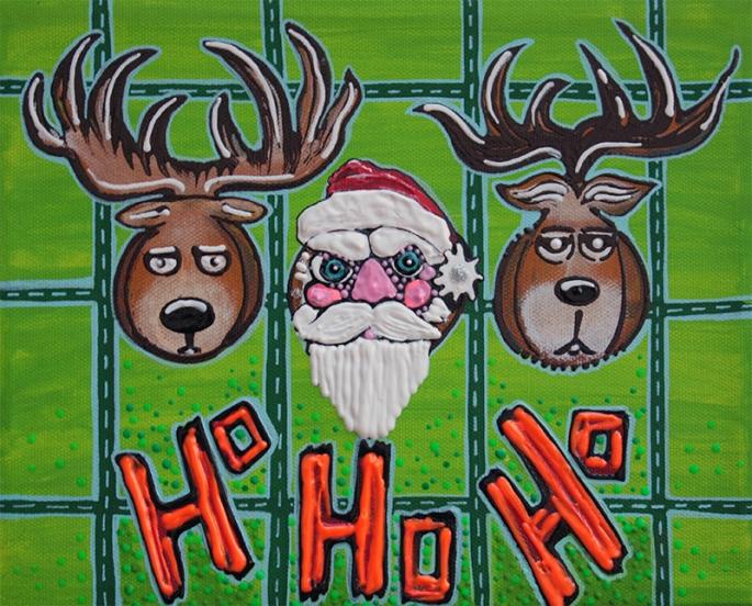 Hunting HO HO HO by Laura Barbosa - display