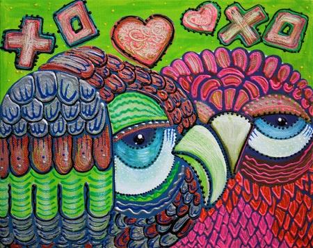 OWL LOVE BY LAURA BARBOSA - DISPLAY