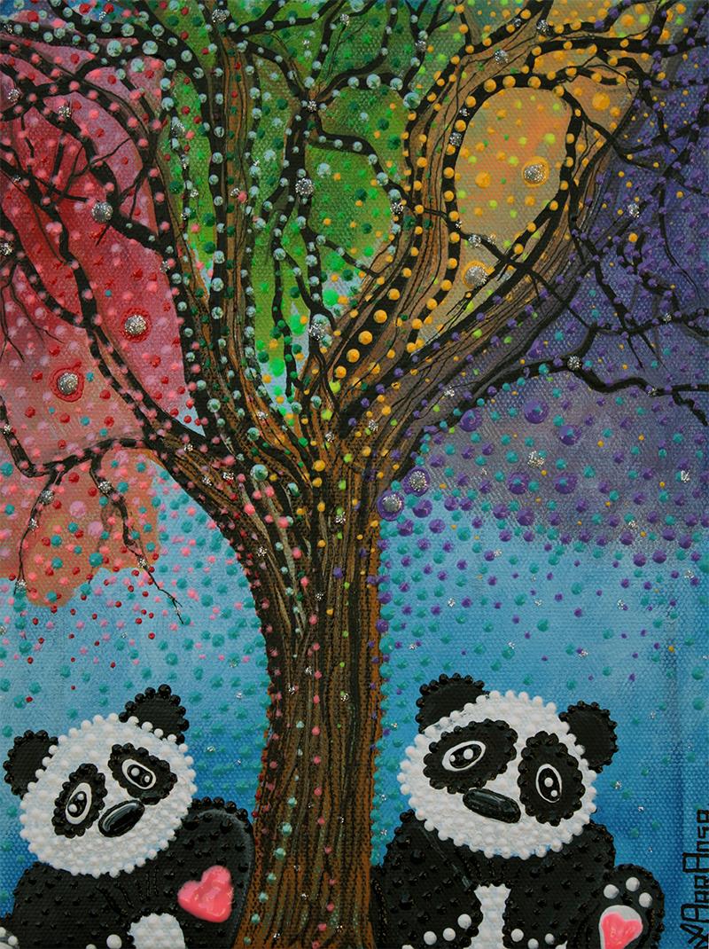 The Panda Tree by Laura Barbosa - display