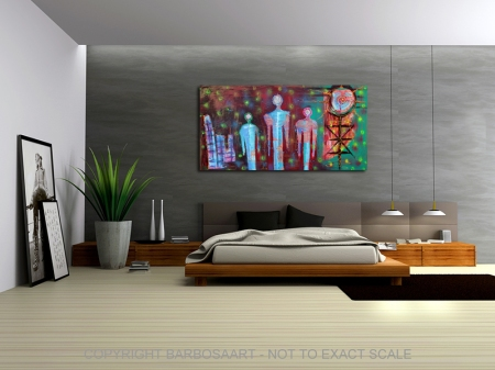Home World by Laura Barbosa - Modern Art