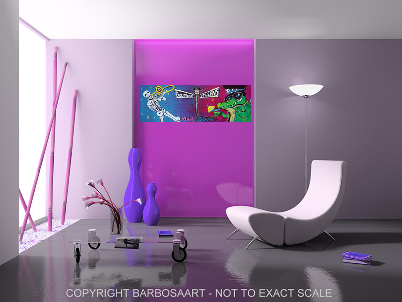 Mardi Gras Celebration by Laura Barbosa - modern home decor 2
