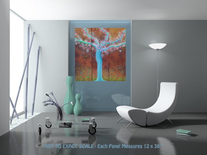 Wisper Tree by Laura Barbosa - modern art