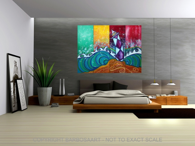 Colors of Summer by Laura Barbosa - modern art