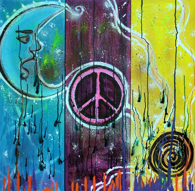 Wish For Peace by Laura Barbosa - display