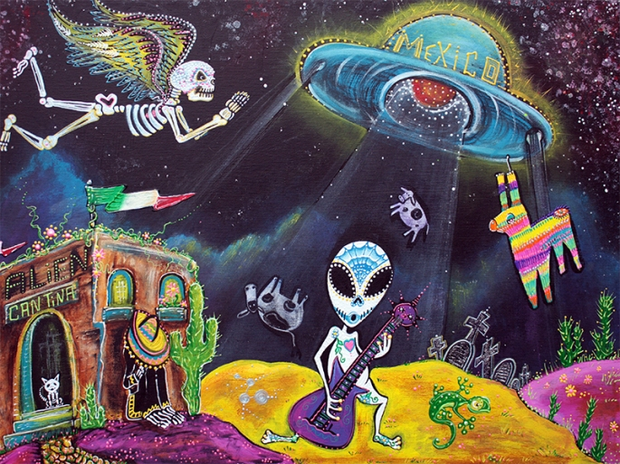 Area 54 by Laura Barbosa - display