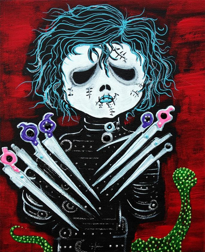Scissorhands by Laura Barbosa - display