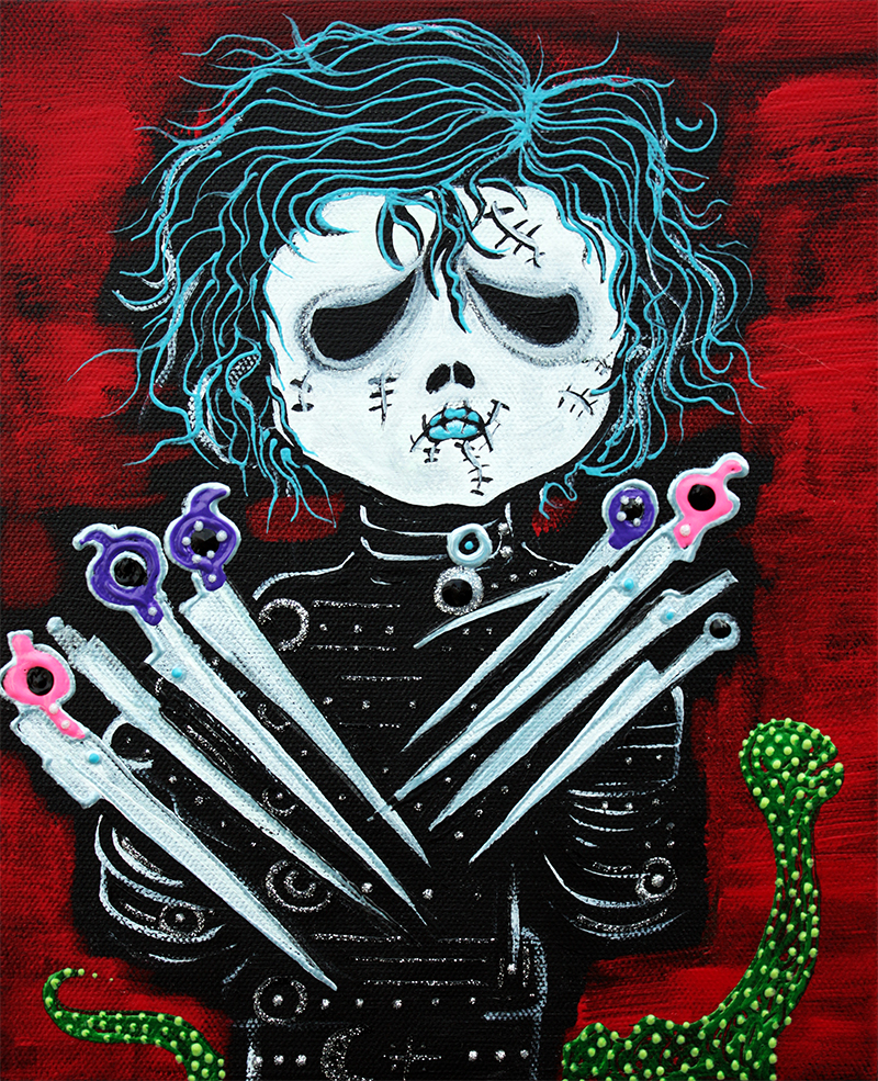 Scissorhands by Laura Barbosa - display