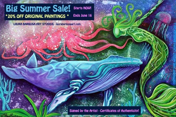 Big Summer Sale Ad