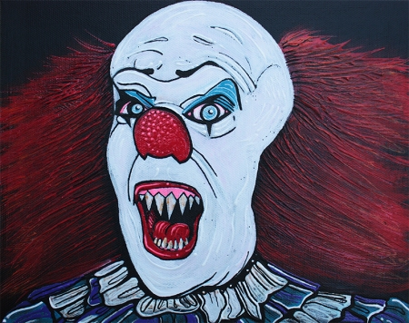 Pennywise by Laura Barbosa - display