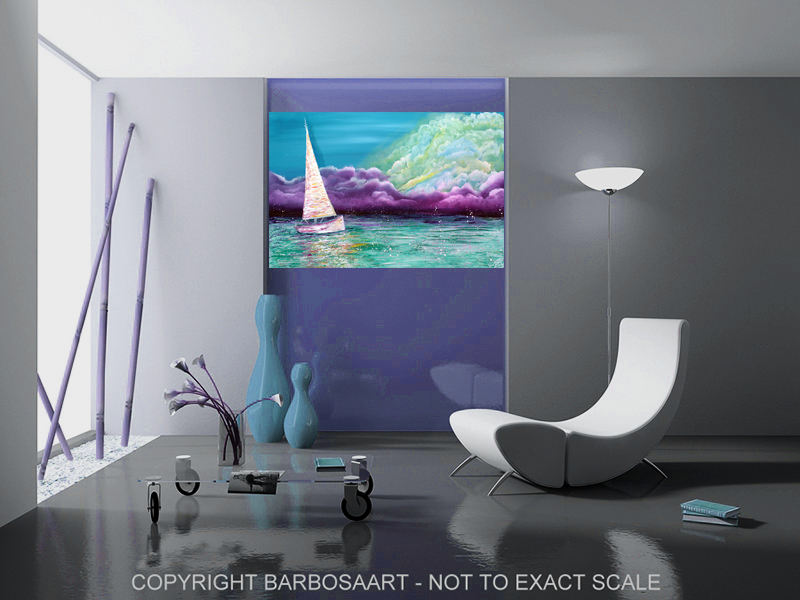 Enchanted Voyage by Laura Barbosa - Shore Home Art