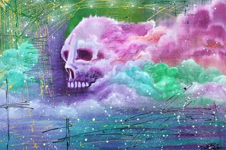 Skull Cloud by Laura Barbosa - display