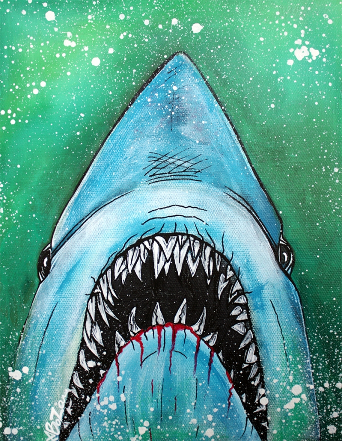 Spawn of Jaws by Laura Barbosa - display