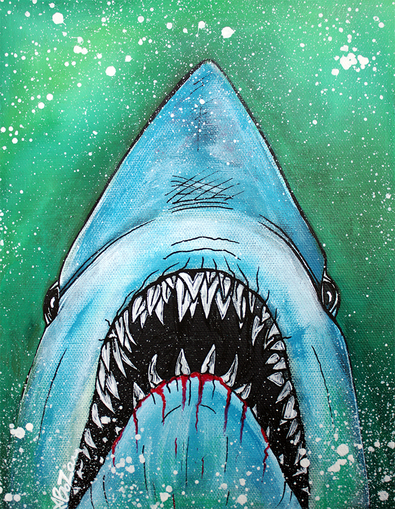 Spawn of Jaws by Laura Barbosa - display