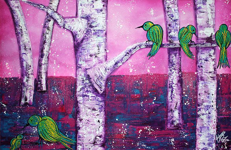 Sweet Tweet by Laura Barbosa - display
