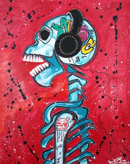 Music is Art by Laura Barbosa - display