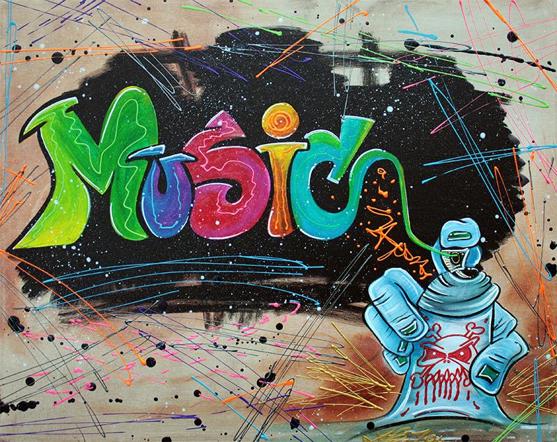 Street Music by Laura Barbosa - display