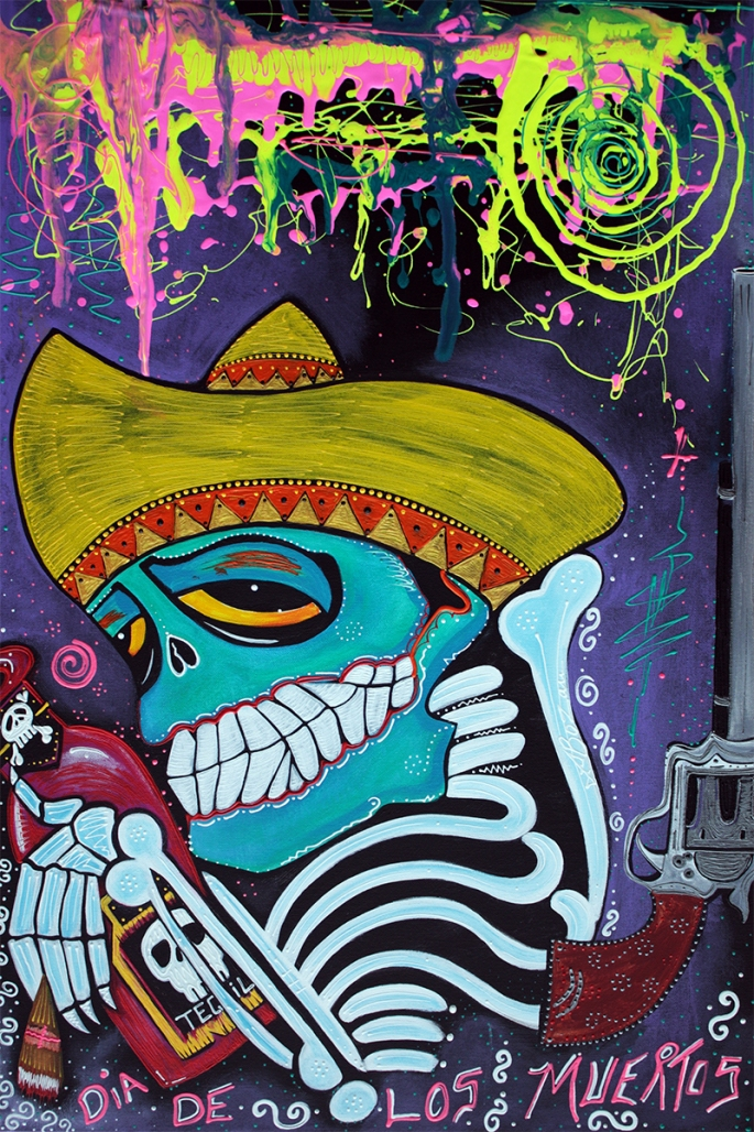 Espiritu Del Tequila 2 by Laura Barbosa - display